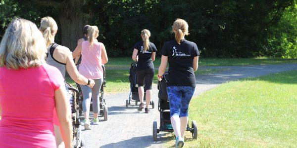 Fitnesskurse für Mamas mit Buggys
